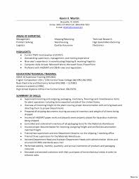 Logistics Clerk Resume Examples Shipping And Receiving Sample