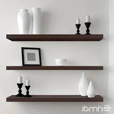 elegant decorative wall shelves mounted shelving white and