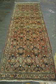 hand knotted persian hamadan rug 3 6 x 10 pa5229