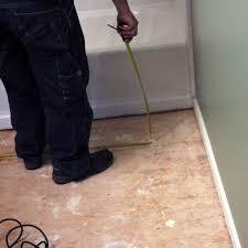 How To Install Bathroom Floor Tile Howtos DIY - Installing bathroom tile floor
