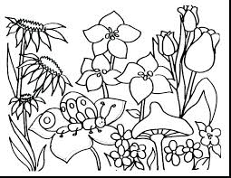 Printable Coloring Pages Of Flowers And Butterflies Free Coloring Pages Of Flowers Theevent2017 Info