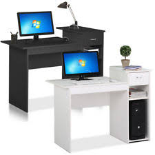 Computer desk small Amazon Small Computer Study Student Desk Laptop Table With Drawer Home Office Furniture Ebay Small Computer Desk Ebay