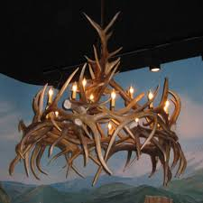 507 l elk antler chandelier hayman 15 light