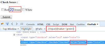 Working with CheckBoxes and Radio Buttons - Testingpool