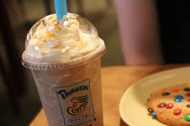 Cupcakes and coffee cake are definitely just thawed, but every other baked good is made fresh daily, says one employee. Panera Bread S Frozen Caramel A Cookie More Instant Happiness Panera Favorite Cookies Food