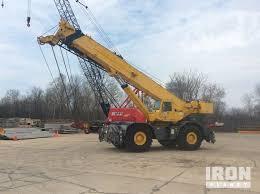 1990 Grove Rt 875 Rough Terrain Crane In Oshkosh Wisconsin