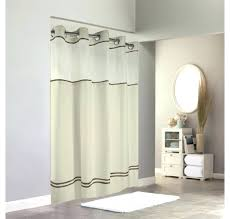 shower curtain with snap in liner