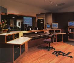 astounding cool home office decorating. Wide Home Studio Design Feature Wooden Workstation Desk Astounding Cool Office Decorating E