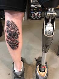 необычные татуировки которые сделаны в реалистичной 3d технике