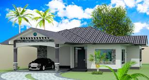 American House Model Design Model 2 2 Bedroom Bungalow Filipino American Design
