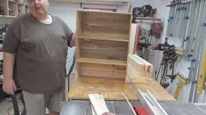 Pallet Kitchen Furniture Pallet Wood Kitchen Project Youtube