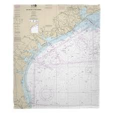 Texas Gulf Coast Water Depth Chart Tx Galveston To Rio Grande Tx Nautical Chart Blanket In