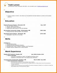 Resume Examples Objectives Bestresume Com