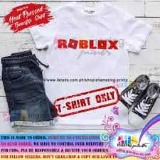 Roblox Custom Clothes Kids Shirt Roblox Shirt For Little Boy Ahamazing Prints Kids Fashion Top Boys Little Boys Statement Shirt Casual Custom Shirt Childrens Wear Baby