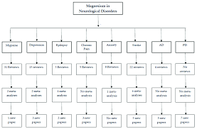 Magnesium Chart Flow Chart Of Magnesium In Neurological Disorders Literature