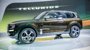 luxury full size suv kia telluride concept is a luxury suv you didnt expect autoweek