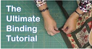 The Ultimate Quilt Binding Tutorial - YouTube &  Adamdwight.com