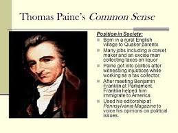 Common Sense Thomas Paine Quotes Best Common Sense 48 Thomas Paine Ppt Video Online Download