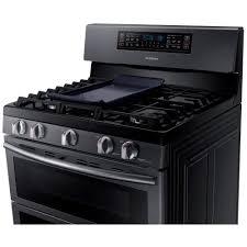 samsung black stainless stove. Plain Black Cooktop  Samsung Black Stainless Steel With Griddle On Stove