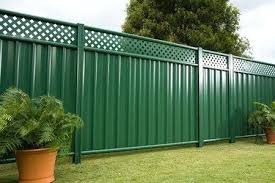 sheet metal fence modern sheet metal fence inside garden steel inspirations sheet metal fence panels color sheet metal fence