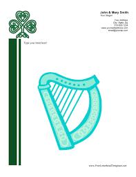 Celtic Personal Letterhead