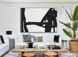 canvas wall art hand painted oversized