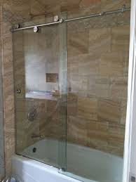tempered glass shower doors cardinal skyline series enclosure 1 2 clear tempered