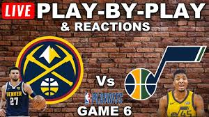 Denver Nuggets vs Utah Jazz Game 6 Live Play-By-Play & Reactions - YouTube
