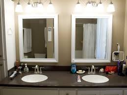 double sink bathroom mirrors. Bathroom Oval Vanity Mirrors Best Double Sink Framed Pic For Styles U