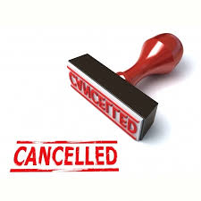 Image result for Canceled