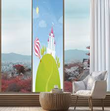 Kitchen Designs Castle Hill Amazon Com Yoliyana Ethylene Film Printing Design Window