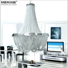 long chain chandelier french empire light fixture for restaurant modern hanging suspension with cha chandelier with chain