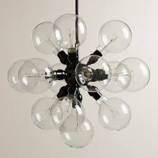13 bulb cer chandelier contemporary pendant lighting by cost plus world market