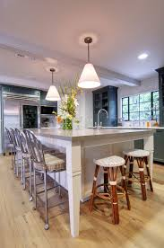 Island Designs For Kitchens Modern Kitchen Island Designs With Seating