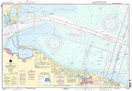 Online Chesapeake Bay Charts Noaa Chart Chesapeake Bay Thimble Shoal Channel 18th Edition 12256