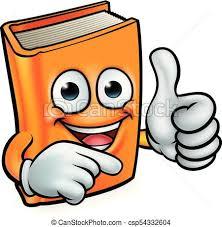 book cartoon education mascot csp54332604