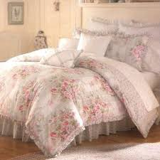 image of shabby chic twin bedding