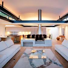 home mood lighting. create an ambient feel in openplan scheme with layers of different lighting home mood