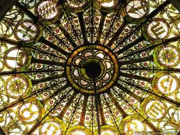 walk chicago tours tiffany glass dome celing