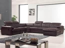 u shaped sofa leather
