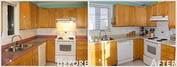 beauti tone countertop refinishing kit before after