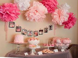 baby shower ideas for girls decorations