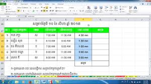 Ms Excel Ms Excel Exercise Under Fontanacountryinn Com