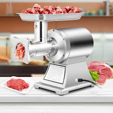 Commercial 1.5HP Electric Meat Grinder 1100W Stainless Steel Meat Mincer for sale online