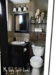 bathroom decorating ideas on a budget pinterest. my ugly split-level: blog on how her home was renovated a thrifty. tiny bathroomsbathrooms decorhalf bathroom decorating ideas budget pinterest m