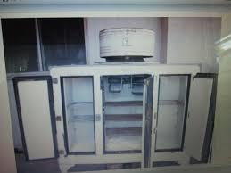 antique g e refrigerator w monitor for