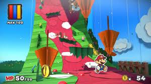 Video Games Review Paper Mario Colour Splash Wii U 2016 The
