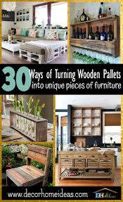 unique diy furniture. 30 Ways Of Turning Wooden Pallets Into Unique Pieces Furniture | Get Some Amazing Ideas Diy T