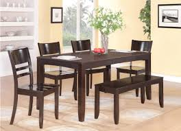 Bench Style Kitchen Tables Impressive Ideas Bench Table Dining Set 799 Table 4 Chairs And
