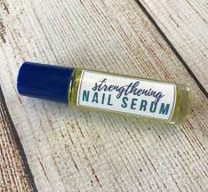 diy essential oil nail serum for dry weak brittle fingernails nourishes strengthens